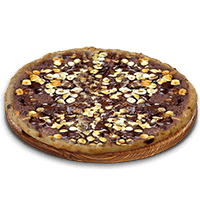 choc pizza