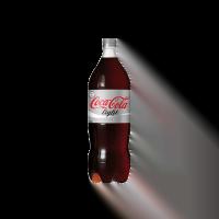 coke light bottle