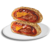 Beef Pizza Burger 1