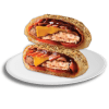 Chicken BBQ Pizza Burger 1