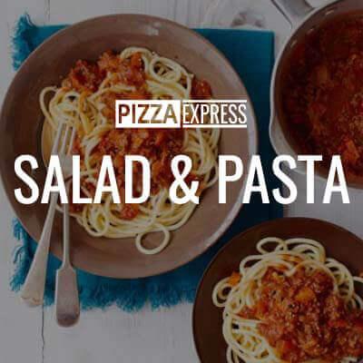 PIZZA EXPRESS SALAD PASTA 1