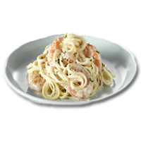 creamy seafood pasta 1