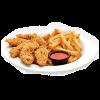 Chicken strips poutine 1