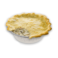 chicken mushrrom pie