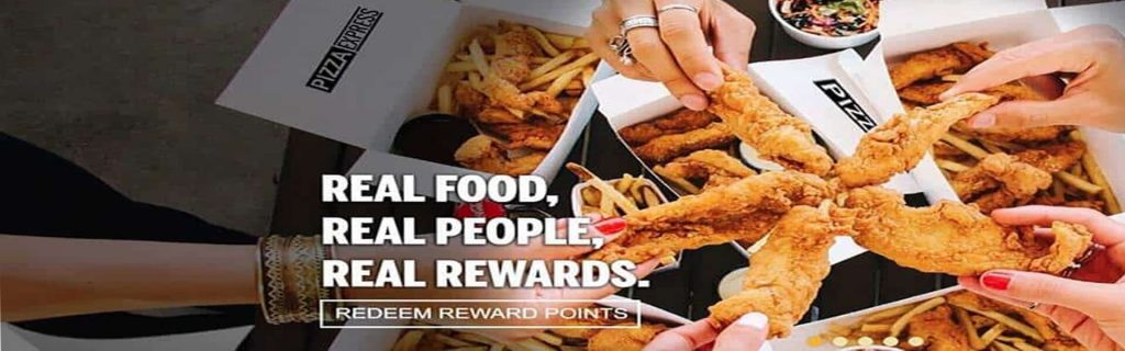 real food banner