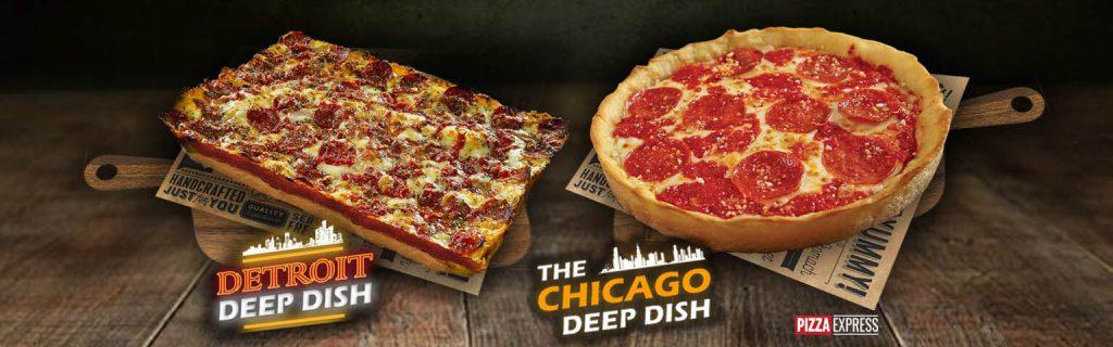 Chicago Detroit Deep Dish Banner